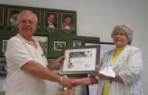 Jerry Bolce receives COC award